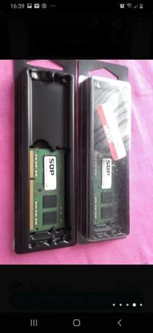 RAM 2X4 GB DDR3 PC14900/1866MHZ - foto 1