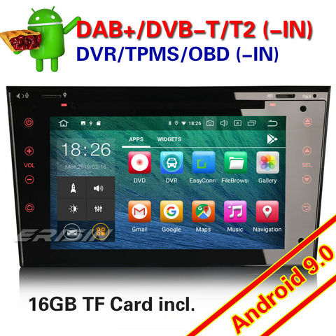 ANDROID 9. 0 DAB + GPS COCHE ESTÉREO OPEL - foto 1