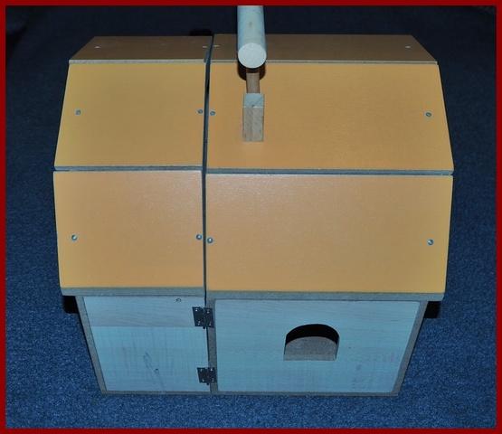Escala 1:12 Bandeja de madera de un solo tamaño grande caja Cajón Casa De Muñecas Accesorio De Alimentos H