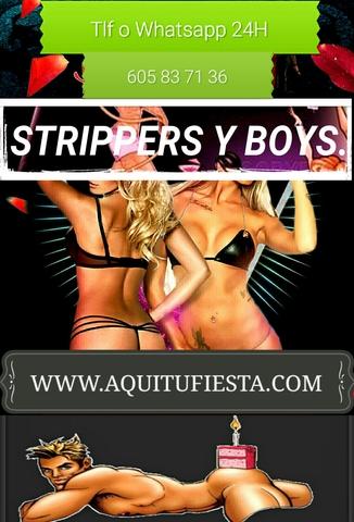 DESPEDIDAS ORIGINALES STRIPER Y BOYS - foto 1