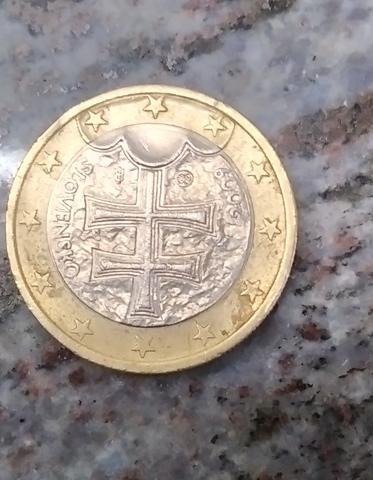 Moneda Euro Eslovaquia
