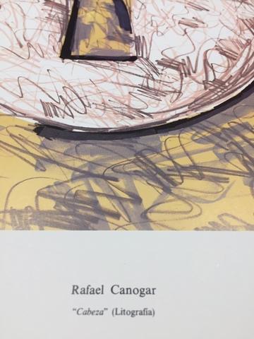 PÓSTER DE RAFAEL CANOGAR - foto 2