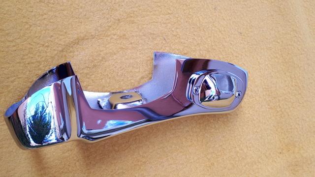 MERCEDES PONTON W120 DEFENSA TRASERA - foto 2