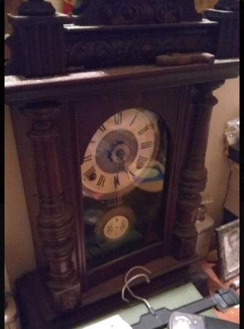 Reloj Antiguo De Sobreponer