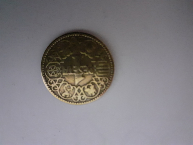 Moneda Antigua De 1Pts De 1944