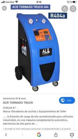MIL ANUNCIOS.COM Maquina carga aire acondicionado Segunda