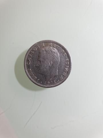 Moneda 5 Pesetas Carlos I 1975