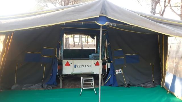 MIL ANUNCIOS.COM Remolque tienda convertible Segunda mano