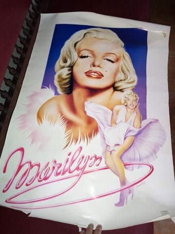 Cartel Marilyn Fechado 1985