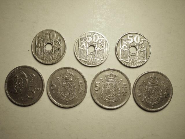 Vendo Varias Monedas De Franco