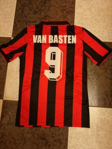 Camiseta Milan Van Basten 91-92 Retro