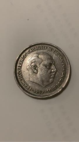 25 Pesetas 1957 *59