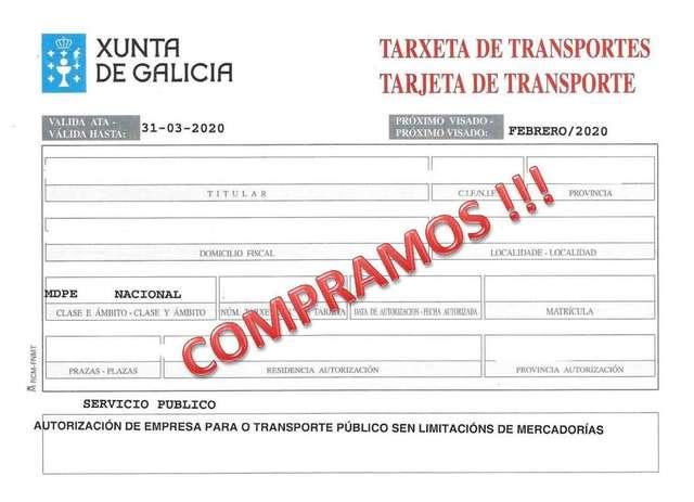 COMPRAMOS TARJETAS DE TRANSPORTE - foto 1