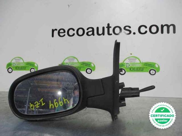 Para Nissan Micra 2003-2009 Nueva Ala Espejo Manual Negro Derecho O//S LHD