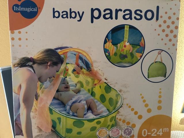 Azul Para-su-poco uno bebé Parasol Totalmente Nuevo Y En Caja