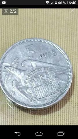 Vendo Moneda De 5Pesetas De Franco