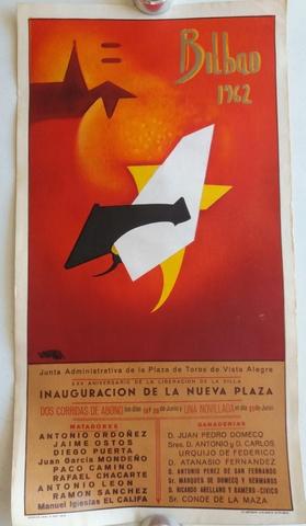 CARTELES T:  VISTA ALEGRE DE BILBAO 1962 - foto 1