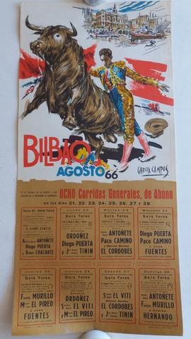 CARTELES T:  VISTA ALEGRE DE BILBAO 1962 - foto 3