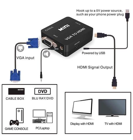 CONVERTIDOR DE VGA A HDMI - foto 2