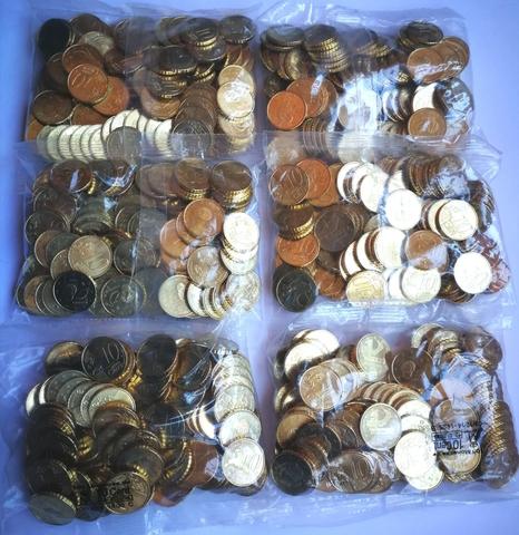 Bolsas Céntimos De Euro