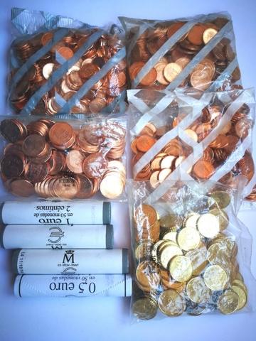 Bolsas Y Rollos Céntimos Menores De Euro