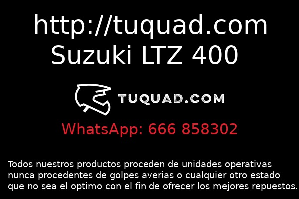 TODOS LOS REPUESTOS LTZ 400 - QUAD REPUESTOS SUZUKI LTZ 400 - foto 4