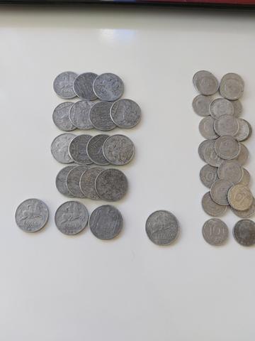 Monedas 10 Céntimos Del 1941, 45, 53, 59