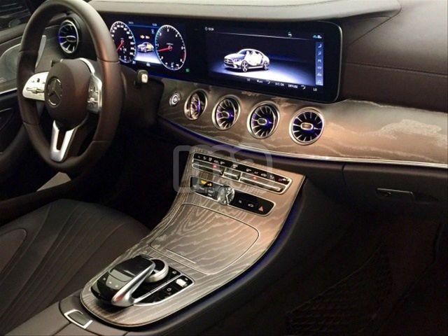Funda de volante en cuero para Mercedes Clase CLS W218 cuero liso perforado
