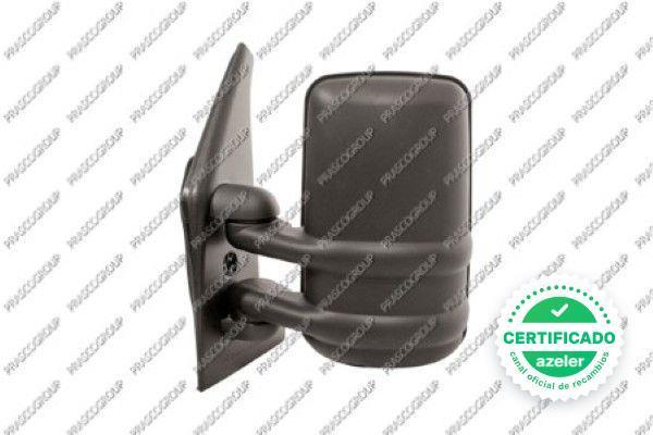 03-10 - Derecho Retrovisor cristal+base Renault Master 31809122