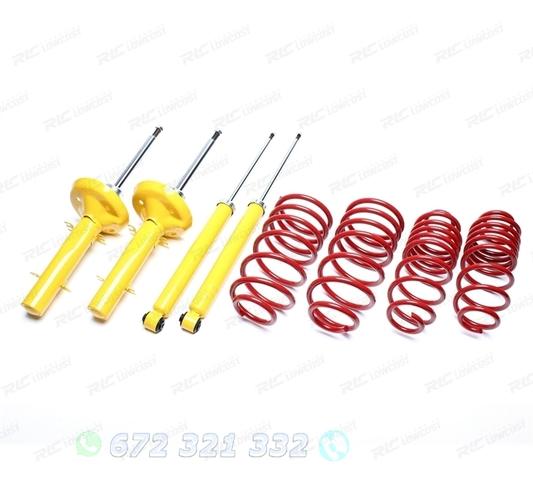 2 x trasero amortiguador válvulas amortiguadores amortiguadores de muelle la presión del gas 830n VW Transporter t4 nuevo