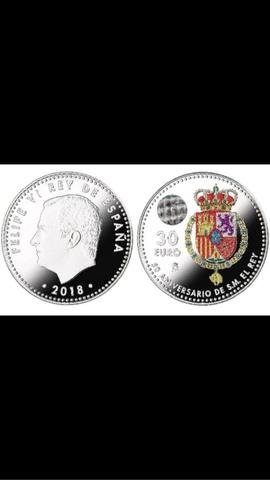 Monedas De Plata 30  Escudo España