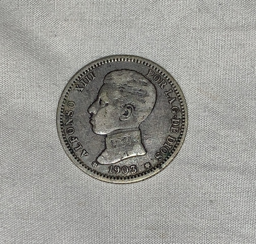 Moneda 1 Peseta 1903