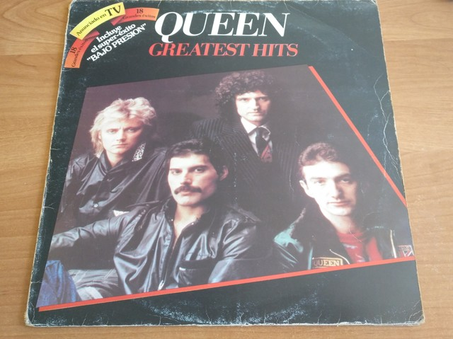 Usado, VINILO QUEEN GREATEST HITS 1981 segunda mano  Pamplona