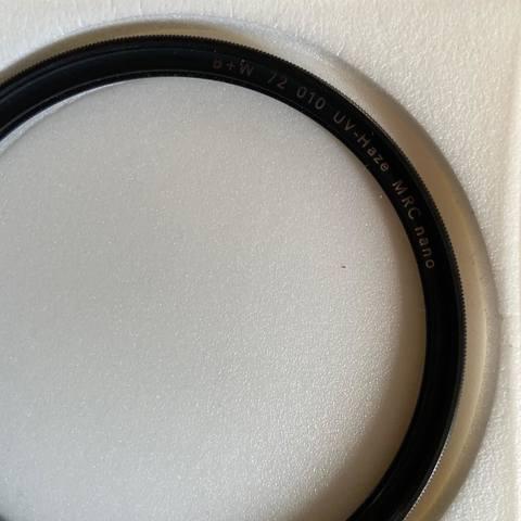 72 mm MRC nano XS-pro digital 1066124 B nuevo embalaje original W filtro UV 010