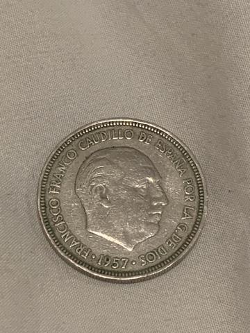 Moneda 5 Pesetas 1957 *60