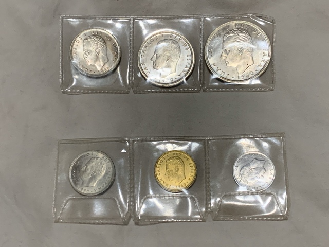 Monedas Mundial España 82