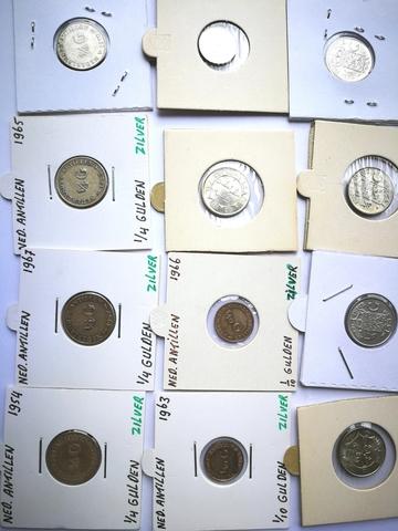 Holanda. Nederland. Lote De 12 Monedas D
