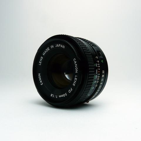 Cuerpo de Canon FD /& Tapa trasera de objetivo
