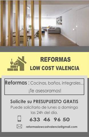REFORMAS LOW COST VALENCIA - foto 4