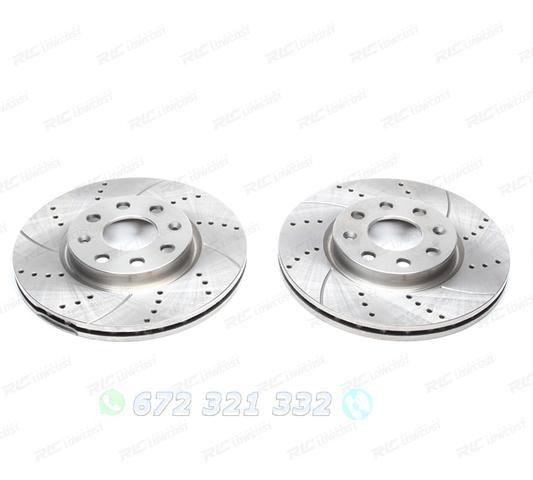 para entre otros 1420-20838 Ate2 original discos de freno ventilado 256 mm delante