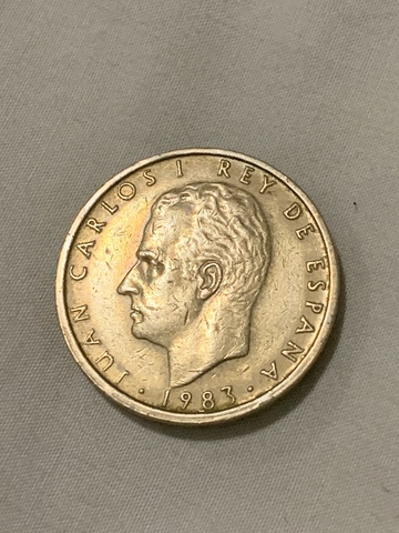 100 Pesetas 1983 Juan Carlos I