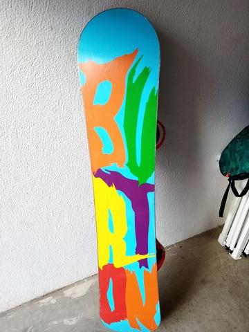 TABLA SNOWBOARD BURTON CON FIJACIONES - foto 5