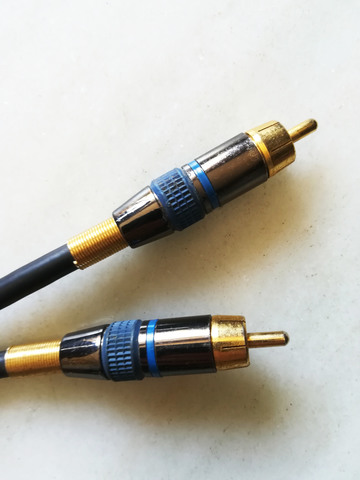 CABLE AUDIO COAXIAL PROFESIONAL 5 METROS - foto 1