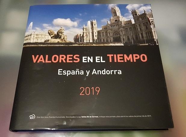 Libro Sellos España Y Andorra 2019