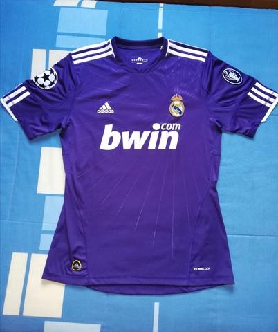 Camiseta Visitante Champions Real Madrid
