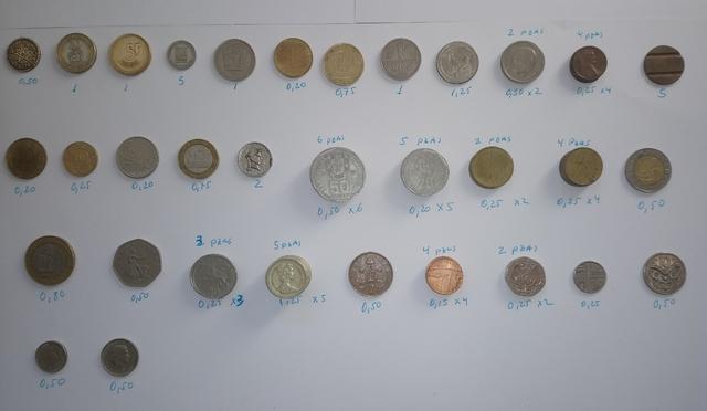 Lote 59 Piezas Monedas Varias