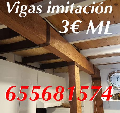 Vigas Paneles Imitación 3 Ml  6556381574