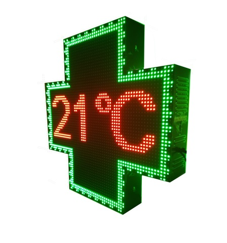 CRUZ FARMACIA LED PROGRAMABLE RGB - foto 1