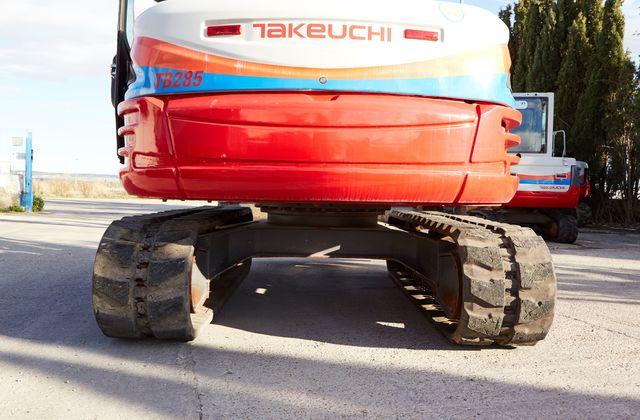 MINIEXCAVADORA TAKEUCHI TB285 - foto 3