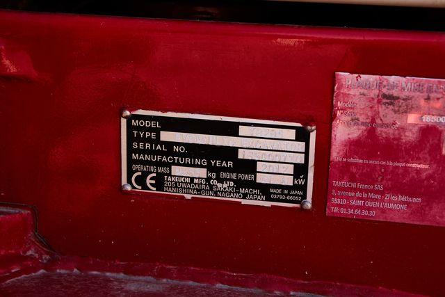 MINIEXCAVADORA TAKEUCHI TB285 - foto 7